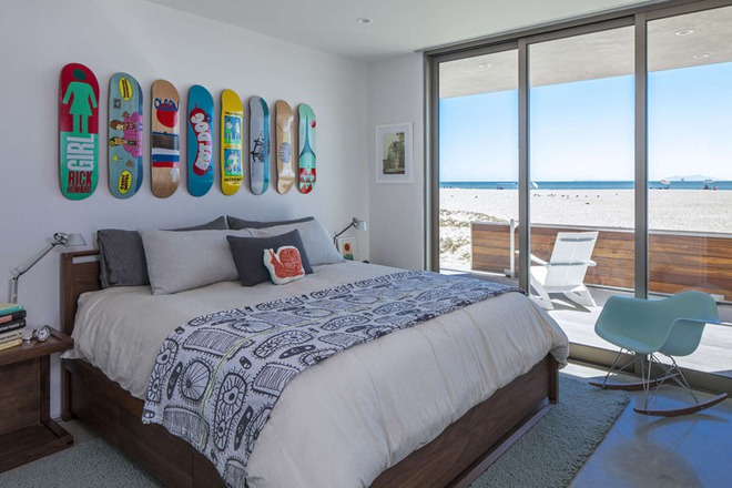 7 cách trang trí đầu giường tạo điểm nhấn cho phòng ngủ - Ảnh 7.