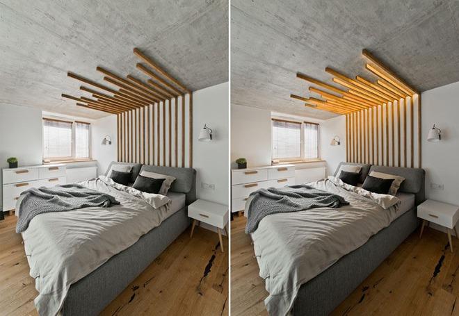 7 cách trang trí đầu giường tạo điểm nhấn cho phòng ngủ - Ảnh 9.