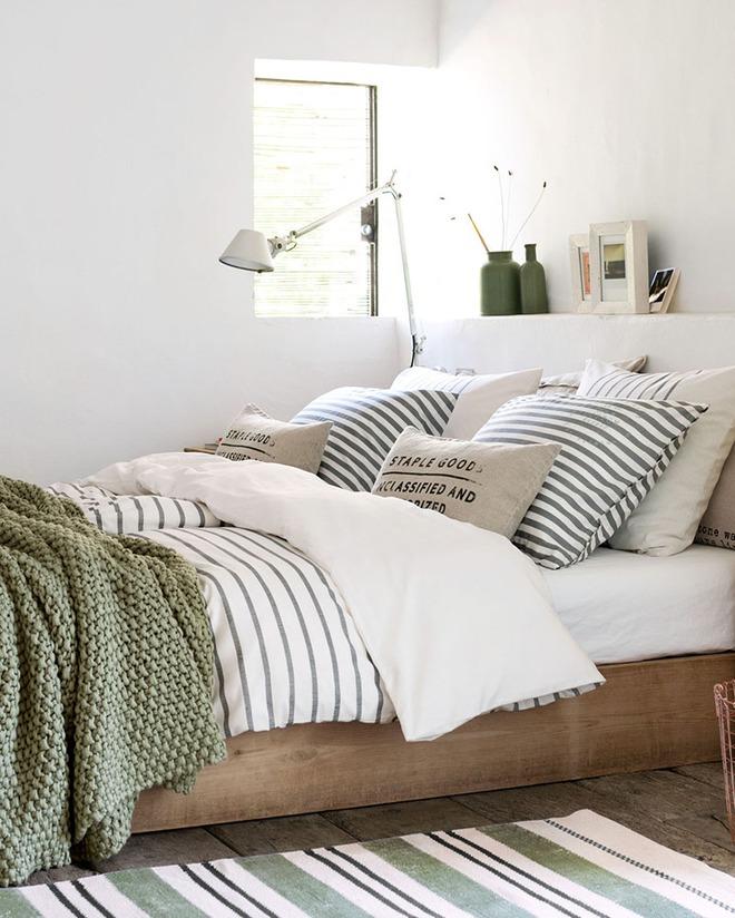 7 cách trang trí đầu giường tạo điểm nhấn cho phòng ngủ - Ảnh 14.