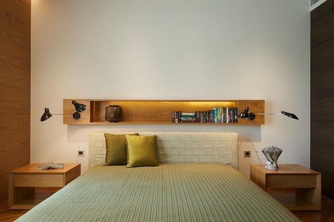 7 cách trang trí đầu giường tạo điểm nhấn cho phòng ngủ - Ảnh 15.