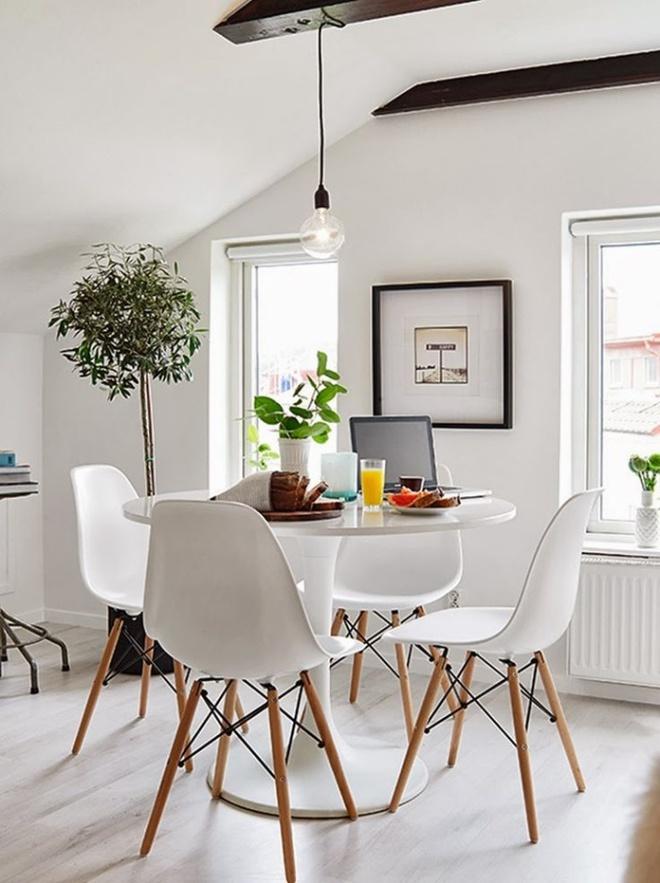 10 lời khuyên ai cũng có thể áp dụng để có phòng ăn đẹp tinh tế trong căn nhà nhỏ - Ảnh 8.