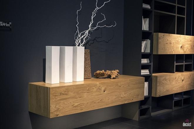 """Kệ gỗ nổi trên tường - Thiết kế lạ được coi là """"con cưng"""" của những chủ nhà ưa phong cách - Ảnh 6."""