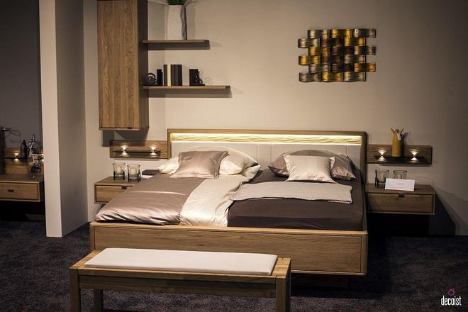 """Kệ gỗ nổi trên tường - Thiết kế lạ được coi là """"con cưng"""" của những chủ nhà ưa phong cách - Ảnh 8."""