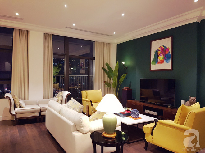 Căn hộ 230m² có phong cách nội thất mang đậm dấu ấn phương Tây của vợ chồng trẻ ở Hà Nội - Ảnh 2.