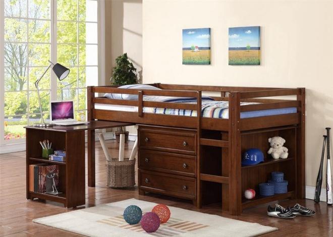 7 mẫu giường ngủ kết hợp bàn học nhìn là muốn mua ngay về cho con - Ảnh 5.