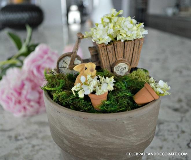 12 cách biến tấu tách uống trà thành đồ vật trang trí nhà đẹp mắt - Ảnh 7.