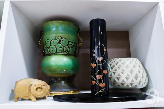 Căn hộ bé xinh chỉ toàn gốm và hoa của mẹ đơn thân ở Định Công, Hà Nội - Ảnh 18.