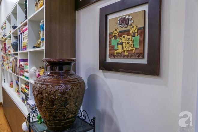 Căn hộ bé xinh chỉ toàn gốm và hoa của mẹ đơn thân ở Định Công, Hà Nội - Ảnh 21.