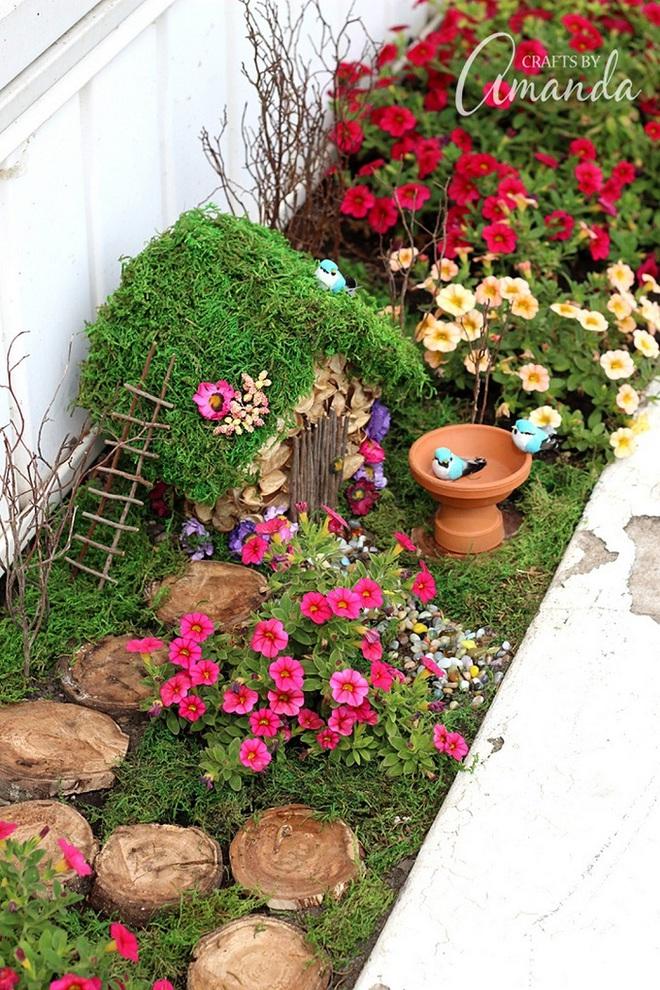 Khu vườn ở sân sau nhà sẽ trở thành chốn thần tiên nếu biết sử dụng những đồ trang trí như thế này - Ảnh 2.
