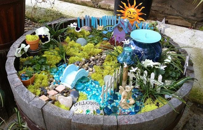 Khu vườn ở sân sau nhà sẽ trở thành chốn thần tiên nếu biết sử dụng những đồ trang trí như thế này - Ảnh 4.