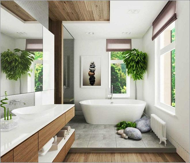 """""""Nhà tắm thực vật"""" – cách đơn giản để nhà tắm thêm mát mẻ trong ngày hè nắng nóng - Ảnh 8."""