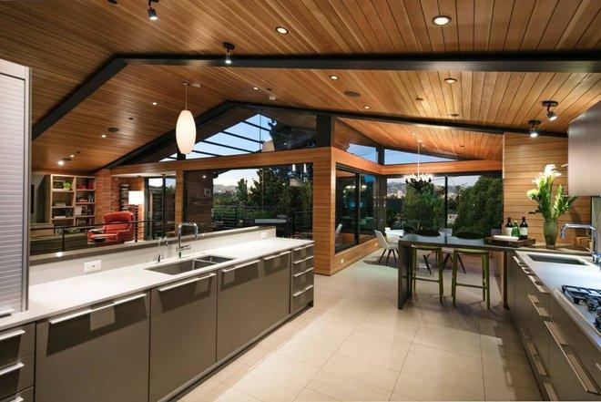 Ngôi nhà vừa ấm áp vừa gần gũi với người dùng chỉ nhờ chất liệu đơn giản này - Ảnh 6.