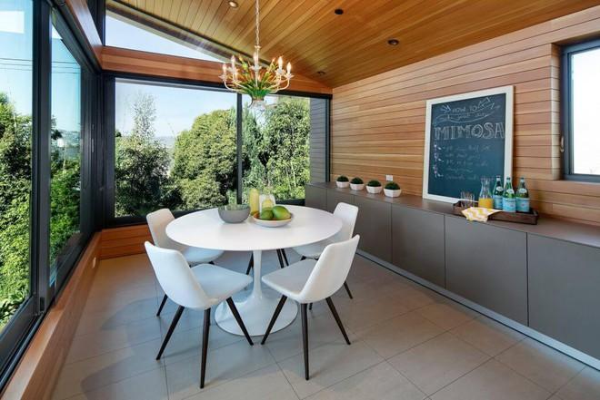 Ngôi nhà vừa ấm áp vừa gần gũi với người dùng chỉ nhờ chất liệu đơn giản này - Ảnh 8.