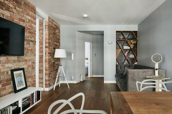 Thay đổi kết cấu của những bức tường, căn hộ này đem đến cho bạn vô vàn ý tưởng sáng tạo - Ảnh 1.