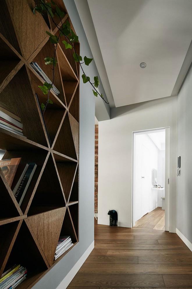 Thay đổi kết cấu của những bức tường, căn hộ này đem đến cho bạn vô vàn ý tưởng sáng tạo - Ảnh 8.