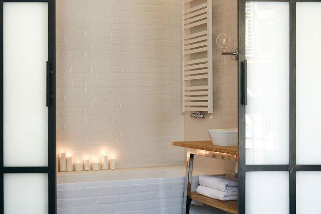 Thay đổi kết cấu của những bức tường, căn hộ này đem đến cho bạn vô vàn ý tưởng sáng tạo - Ảnh 10.