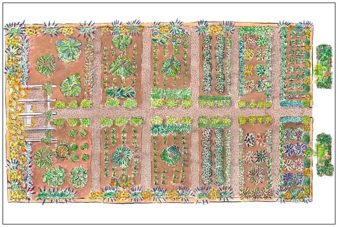 Những thiết kế đẹp bạn có thể học tập để tạo sân vườn xinh tại nhà - Ảnh 1.