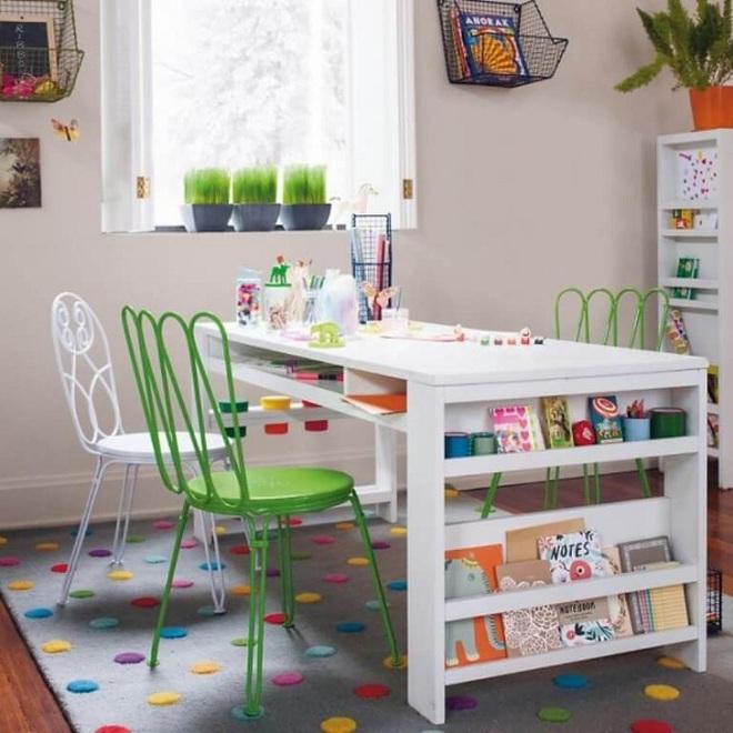 """Bố mẹ đã biết đến thiết kế """"bàn học đa năng"""" cho con chưa, tham khảo ngay để sắm cho bé nhé - Ảnh 3."""