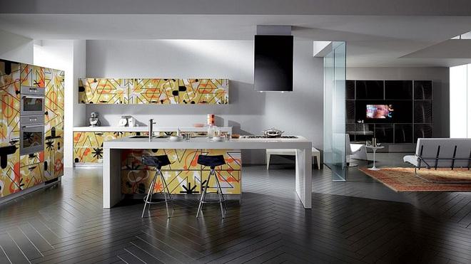 Lối chơi màu mới trong phòng bếp: Chỉ 2 sắc màu thôi là đủ cân cả thế giới - Ảnh 1.