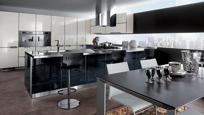 Lối chơi màu mới trong phòng bếp: Chỉ 2 sắc màu thôi là đủ cân cả thế giới - Ảnh 2.