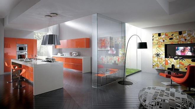 Lối chơi màu mới trong phòng bếp: Chỉ 2 sắc màu thôi là đủ cân cả thế giới - Ảnh 4.