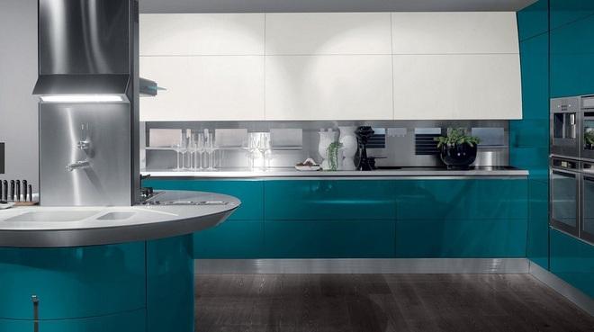Lối chơi màu mới trong phòng bếp: Chỉ 2 sắc màu thôi là đủ cân cả thế giới - Ảnh 9.