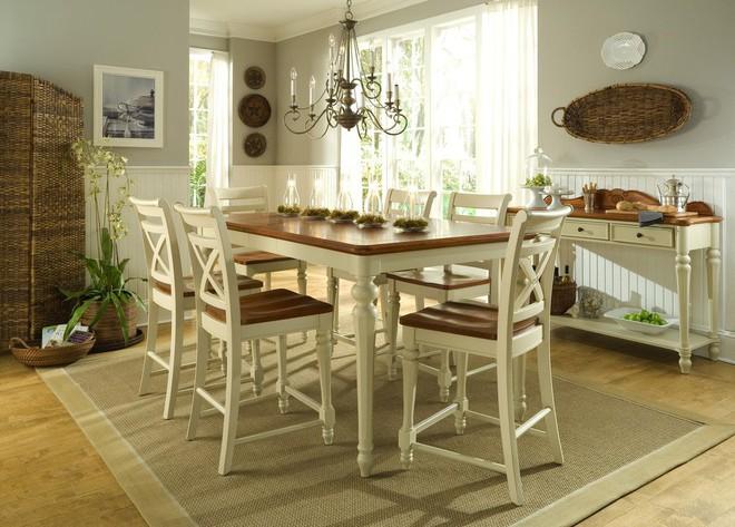10 cách bài trí thảm phòng ăn theo phong cách retro ấn tượng - Ảnh 6.