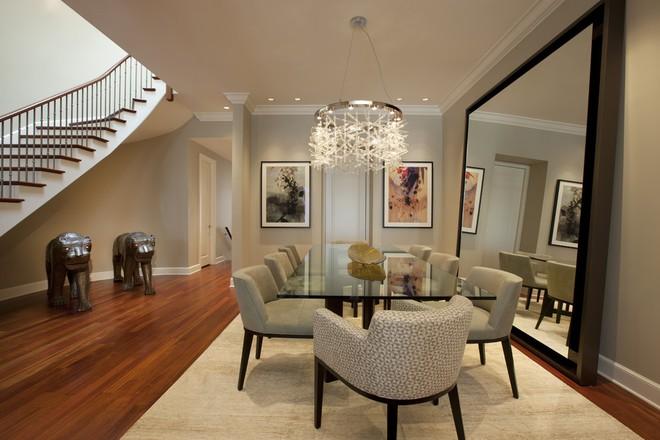 Tận dụng ngay thảm trải sàn dưới bàn ăn, ngôi nhà sẽ trở nên thanh lịch và sang trọng hơn hẳn - Ảnh 1.