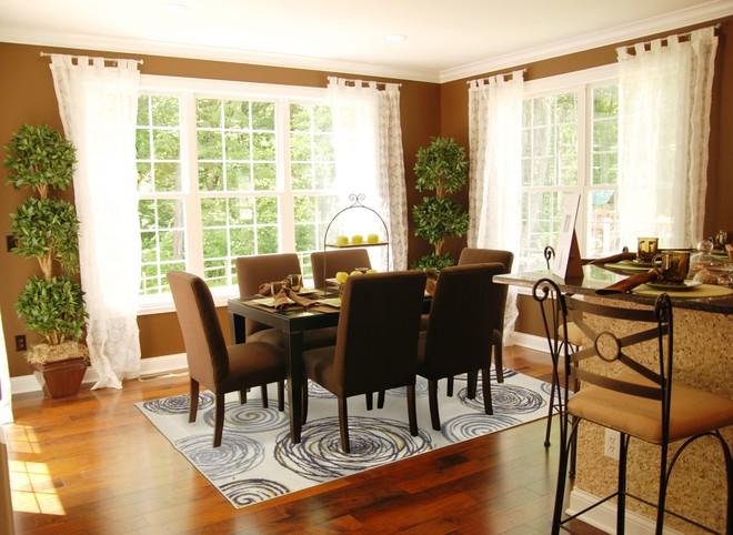 Tận dụng ngay thảm trải sàn dưới bàn ăn, ngôi nhà sẽ trở nên thanh lịch và sang trọng hơn hẳn - Ảnh 2.