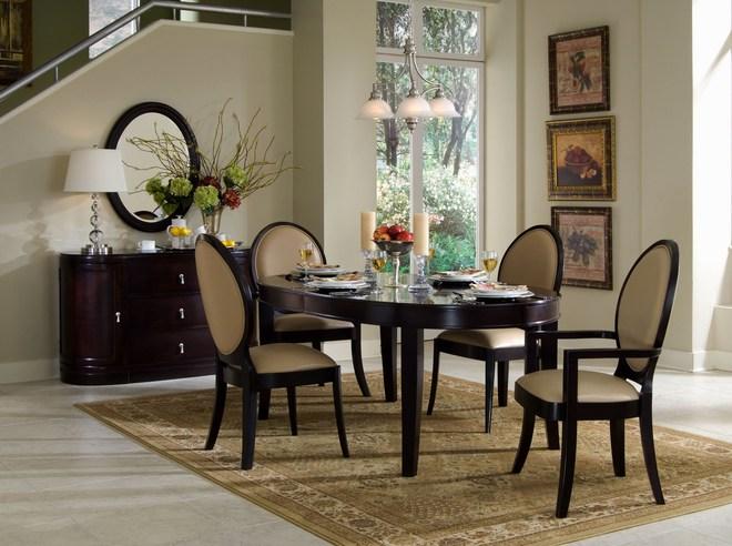 Tận dụng ngay thảm trải sàn dưới bàn ăn, ngôi nhà sẽ trở nên thanh lịch và sang trọng hơn hẳn - Ảnh 4.