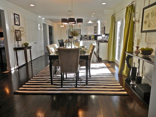Tận dụng ngay thảm trải sàn dưới bàn ăn, ngôi nhà sẽ trở nên thanh lịch và sang trọng hơn hẳn - Ảnh 7.