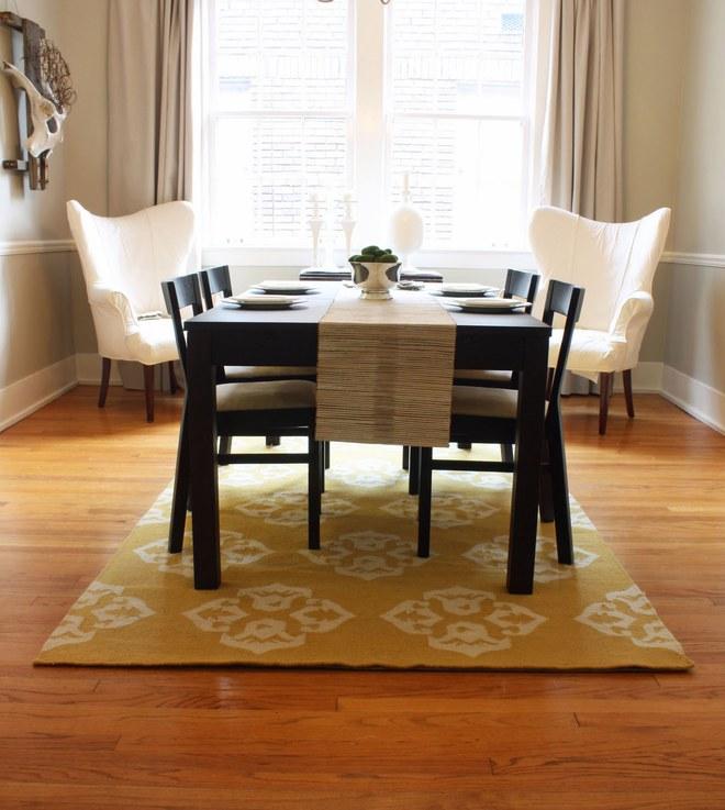 Tận dụng ngay thảm trải sàn dưới bàn ăn, ngôi nhà sẽ trở nên thanh lịch và sang trọng hơn hẳn - Ảnh 8.