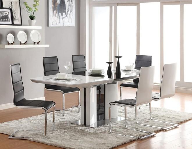 Tận dụng ngay thảm trải sàn dưới bàn ăn, ngôi nhà sẽ trở nên thanh lịch và sang trọng hơn hẳn - Ảnh 11.