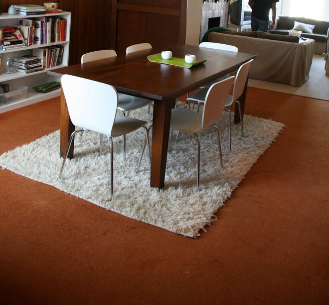 Tận dụng ngay thảm trải sàn dưới bàn ăn, ngôi nhà sẽ trở nên thanh lịch và sang trọng hơn hẳn - Ảnh 12.