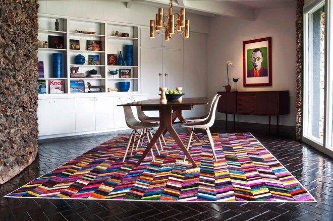 Tận dụng ngay thảm trải sàn dưới bàn ăn, ngôi nhà sẽ trở nên thanh lịch và sang trọng hơn hẳn - Ảnh 14.