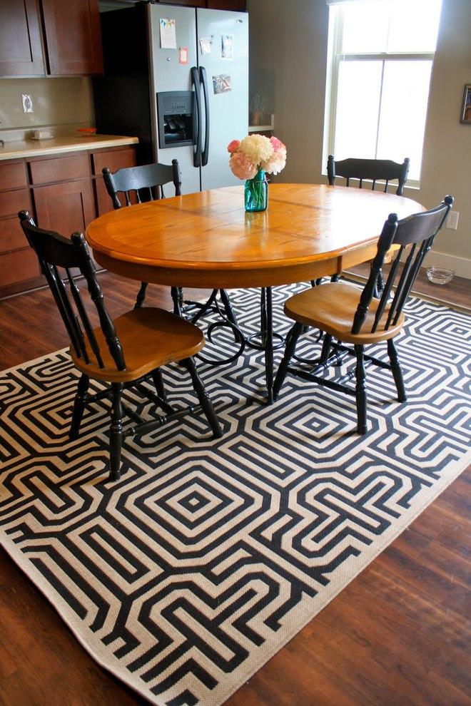 Tận dụng ngay thảm trải sàn dưới bàn ăn, ngôi nhà sẽ trở nên thanh lịch và sang trọng hơn hẳn - Ảnh 18.