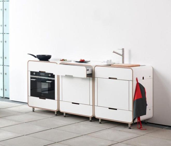 Phòng bếp nhỏ với thiết kế tích hợp mà bất kỳ nhà nào cũng ao ước có được - Ảnh 2.