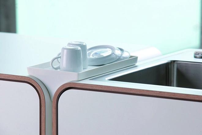 Phòng bếp nhỏ với thiết kế tích hợp mà bất kỳ nhà nào cũng ao ước có được - Ảnh 3.