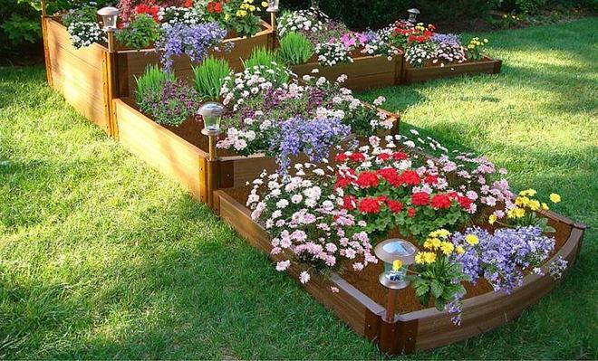20 cách tạo luống hoa đẹp như chốn mê cung cho khu vườn mùa hè - Ảnh 10.