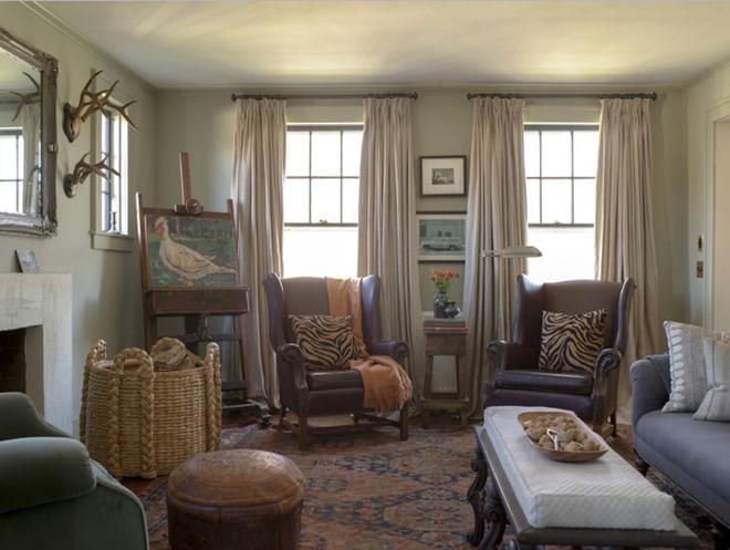 Gợi ý 20 kiểu ghế da màu nâu trang trí phòng khách không bao giờ lỗi mốt - Ảnh 17.