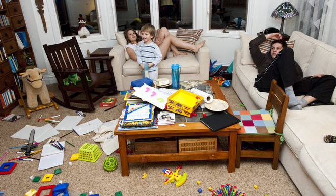 Nếu chưa hình dung nhà có trẻ con sẽ như thế nào, bạn chỉ cần xem những hình ảnh này - Ảnh 14.