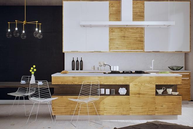 Những góc ăn sáng lãng mạn trong nhà bếp - Ảnh 11.