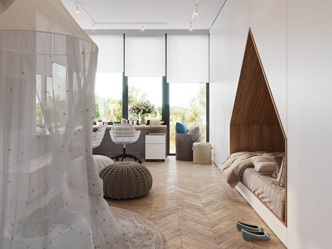 Những mẫu phòng ngủ đẹp mê ly như thế giới thần kỳ dành cho trẻ nhỏ - Ảnh 2.