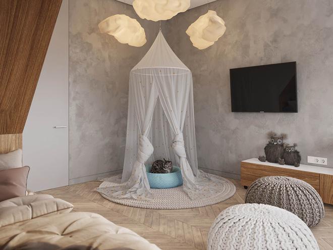 Những mẫu phòng ngủ đẹp mê ly như thế giới thần kỳ dành cho trẻ nhỏ - Ảnh 6.
