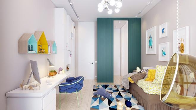 Những mẫu phòng ngủ đẹp mê ly như thế giới thần kỳ dành cho trẻ nhỏ - Ảnh 13.