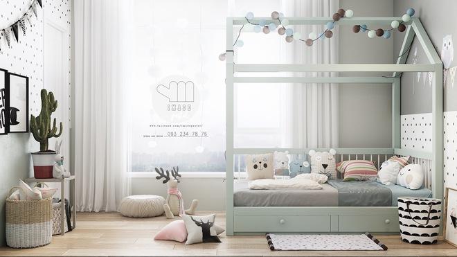 Những mẫu phòng ngủ đẹp mê ly như thế giới thần kỳ dành cho trẻ nhỏ - Ảnh 14.