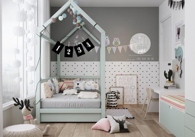 Những mẫu phòng ngủ đẹp mê ly như thế giới thần kỳ dành cho trẻ nhỏ - Ảnh 16.