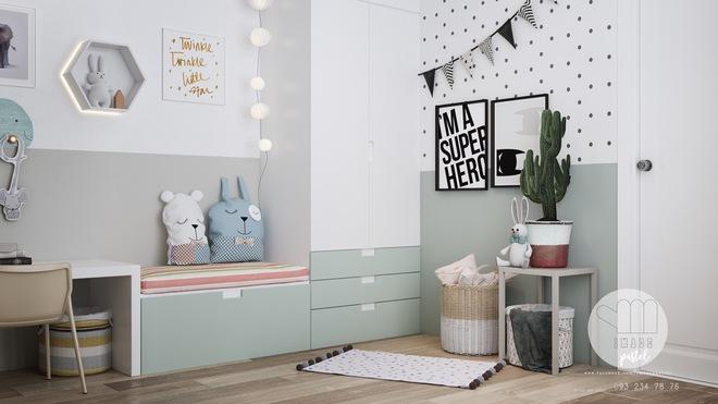 Những mẫu phòng ngủ đẹp mê ly như thế giới thần kỳ dành cho trẻ nhỏ - Ảnh 17.
