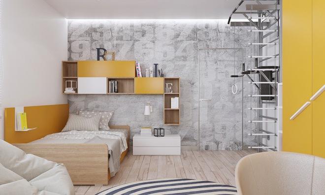 Những mẫu phòng ngủ đẹp mê ly như thế giới thần kỳ dành cho trẻ nhỏ - Ảnh 22.