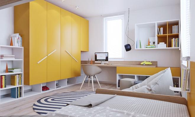 Những mẫu phòng ngủ đẹp mê ly như thế giới thần kỳ dành cho trẻ nhỏ - Ảnh 23.